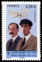 Orville Wright (1871-1948) et Wilbur Wright (1867-1912)