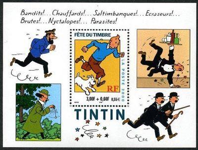 Fete du timbre (Tintin)