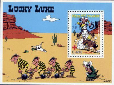 Fête du timbre (Lucky Luke)
