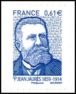 Jean Jaurès (1859-1914), homme politique français
