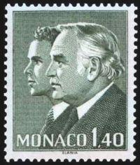 Princes Rainier III et Albert