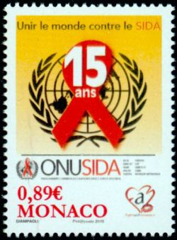 15ème anniversaire du programme ONUSIDA