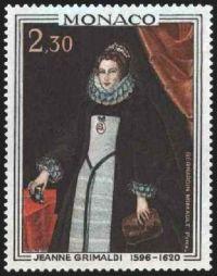 Jeanne Grimaldi 1596-1620