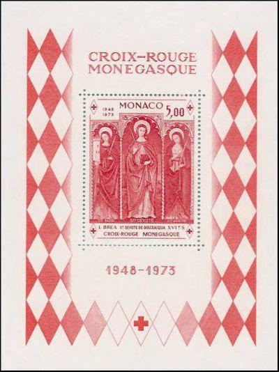 XXVème anniversaire de la fondation de la croix rouge monégasque