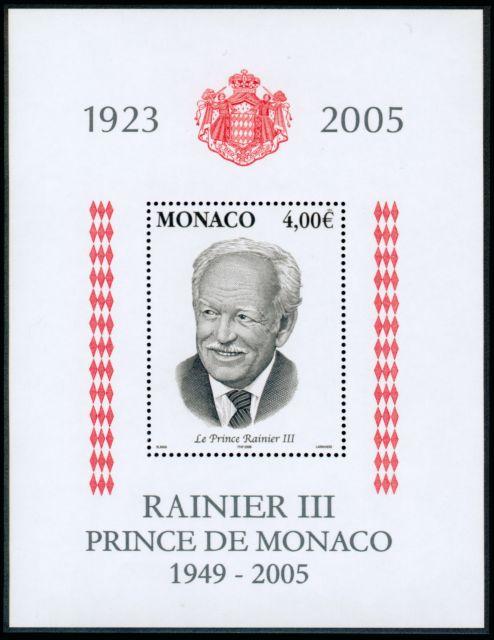 A la mémoire de S A S Rainier III (1923-2005)