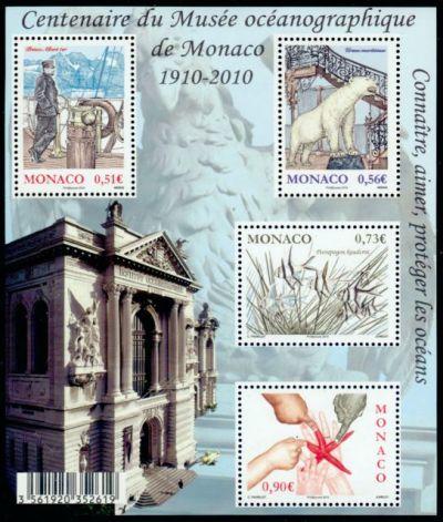 Centenaire du musée océanographique de Monaco