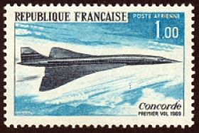 1er vol de l'Avion supersonique Concorde