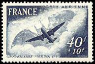 Cinquantenaire du premier vol de l'avion de Clément Ader (1841-1925)