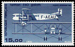 Avion bimoteur Farman F60 Goliath
