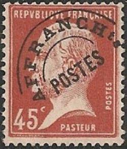 Louis Pasteur préoblitéré