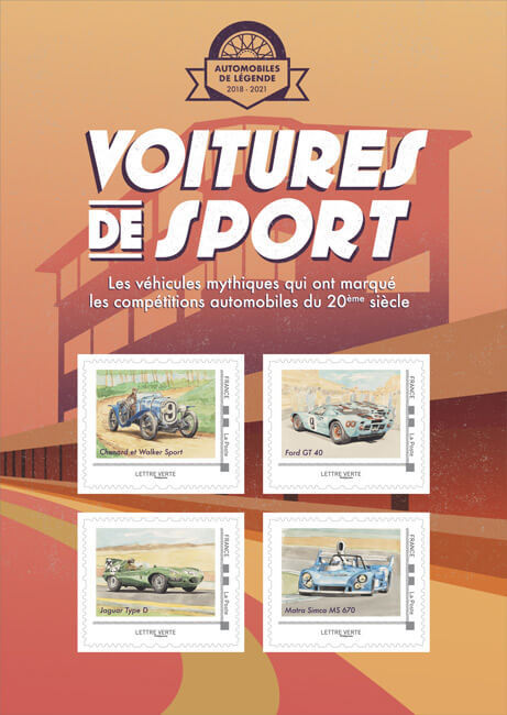Collector - Voitures de sport - Circuits