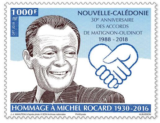 Polynésie Française - Hommage à Michel Rocard