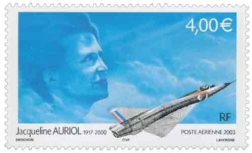 Hommage à l'aviatrice Jacqueline Auriol