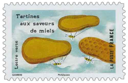 Tartines aux saveurs de miels