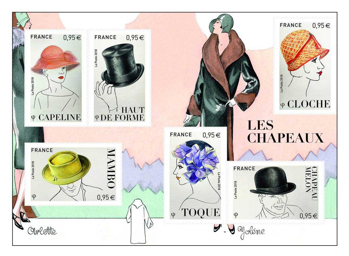Série le coin du collectionneur : les chapeaux