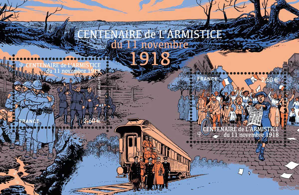 Bloc de 2 TP sur le centenaire de l'armistice