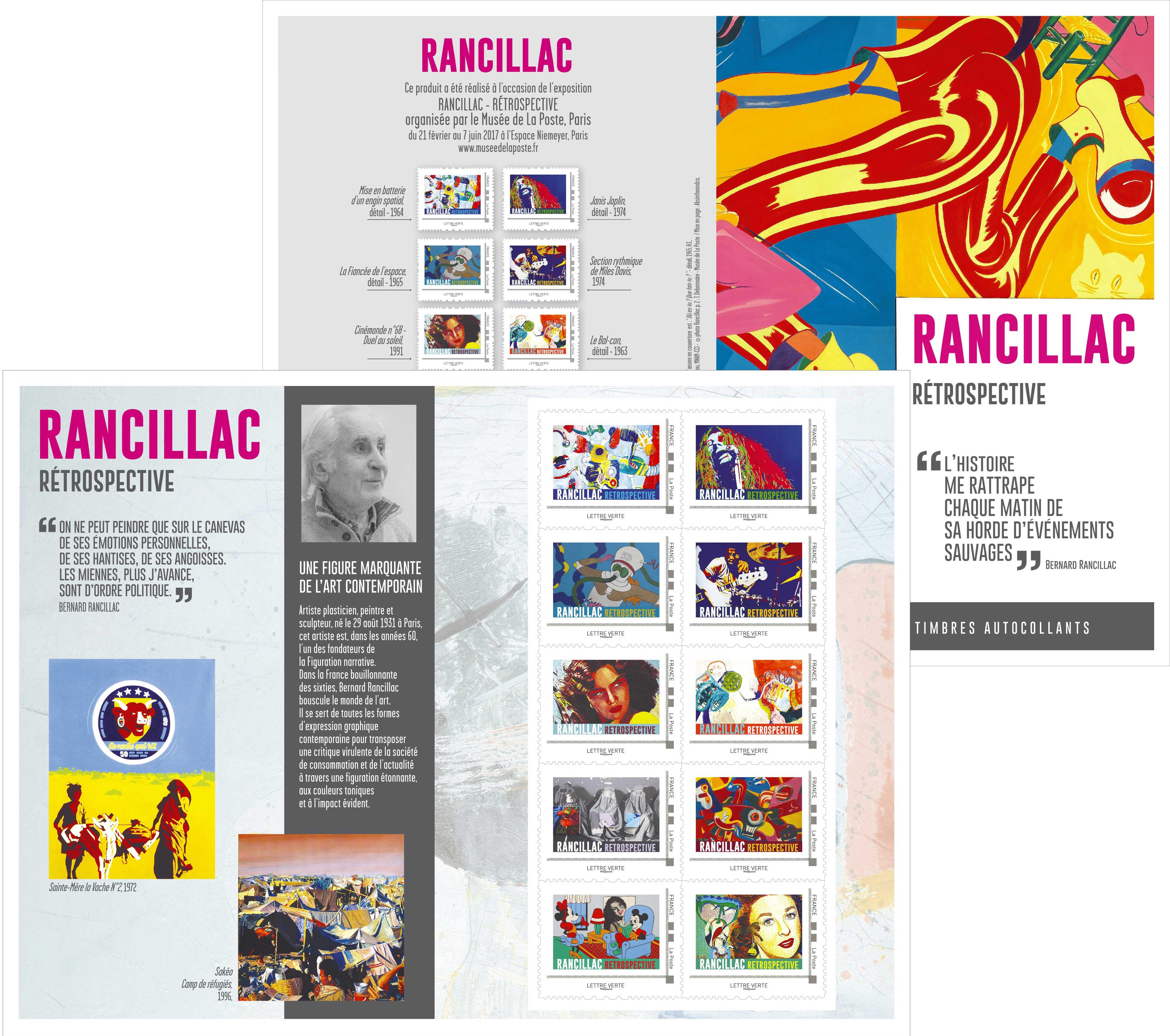 """Collector """"RANCILLAC RETROSPECTIVE"""""""