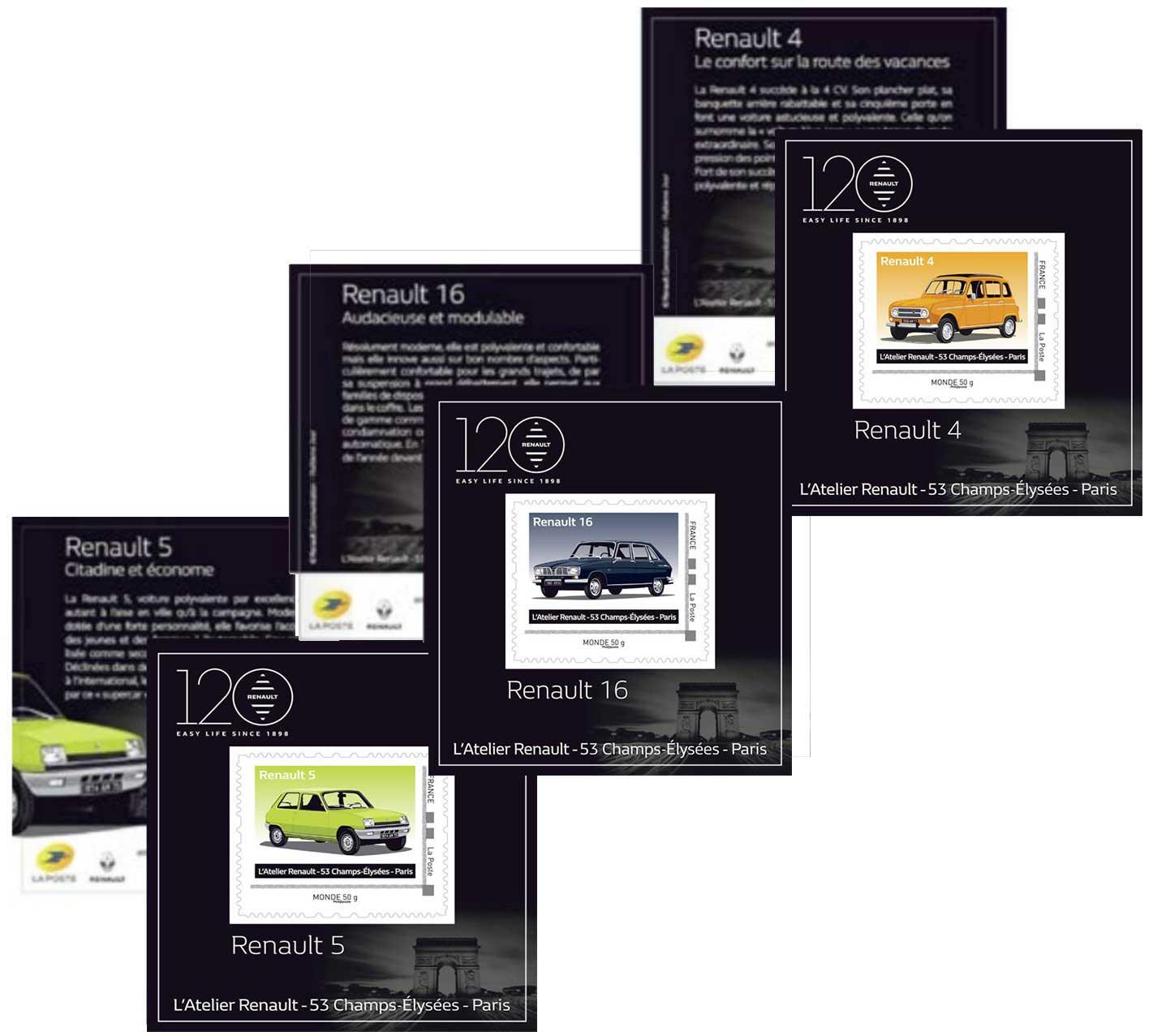 Timbre : 2018 Renault 4 - 5 - 16