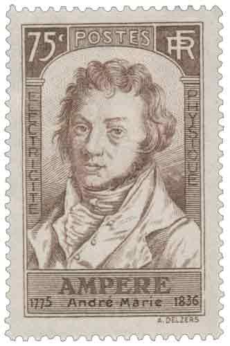 AMPÈRE André Marie