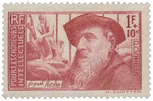 Au profit des Chômeurs intellectuels. Auguste Rodin (1840-1917)