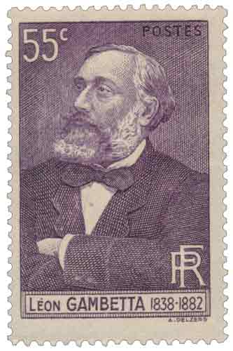 Centenaire de la naissance de Léon Gambetta