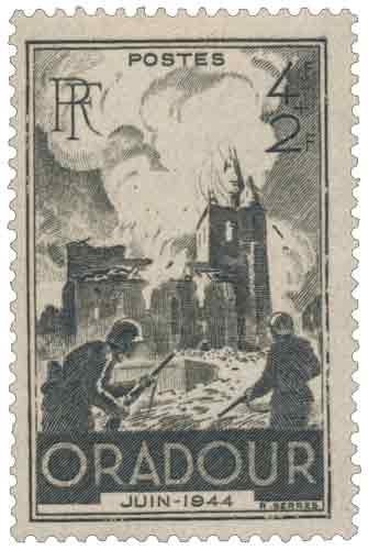 Commémoration de la destruction d'Oradour-sur-Glane