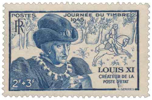Effigie de Louis XI (1423-1483)
