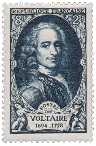 François Marie Arouet, dit Voltaire (1694-1778)