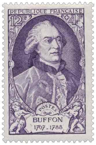 Georges Louis Leclerc, comte de Buffon (1707-1788), naturaliste