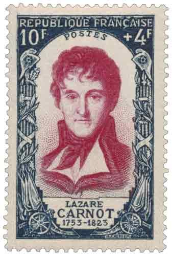 Lazare Carnot (1753-1823), mathématicien, né à Nolay