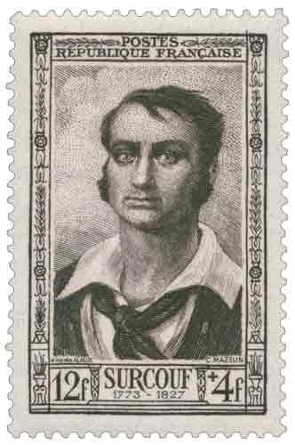 Robert Surcouf (1773-1827), corsaire, né à Saint-Malo
