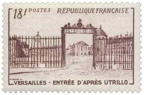 Grille d'entrée du château de Versailles