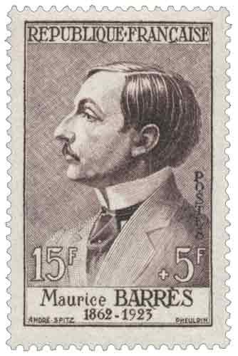 Maurice Barrès (1862-1923)