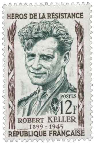 Robert Keller (1899-1945), héros de la Résistance, né au Petit-Quevilly