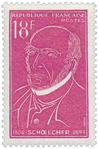 Victor Schœlcher. (1804-1893)