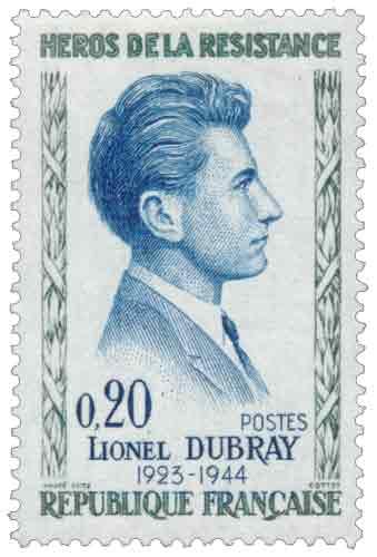 Lionel Dubray (1923-1944), résistant parisien, né à Joinville-le-Pont