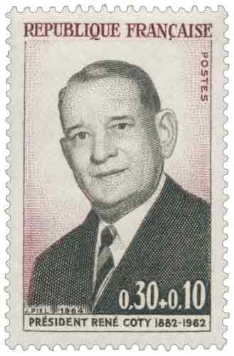 PRÉSIDENT RENÉ COTY 1882-1962