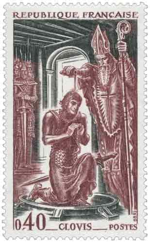 Baptême de Clovis (465-511)