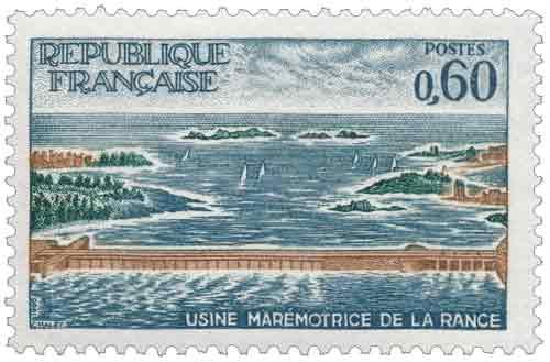 Usine marémotrice de la Rance (Ille-et-Vilaine)