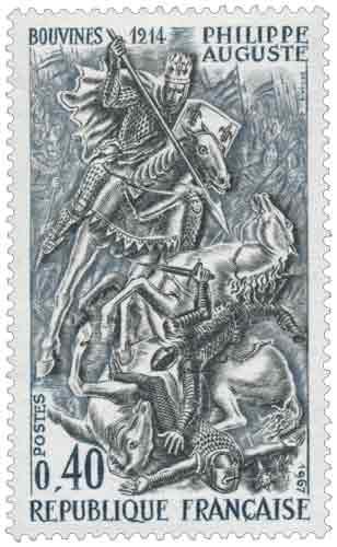 BOUVINES 1214 PHILIPPE AUGUSTE