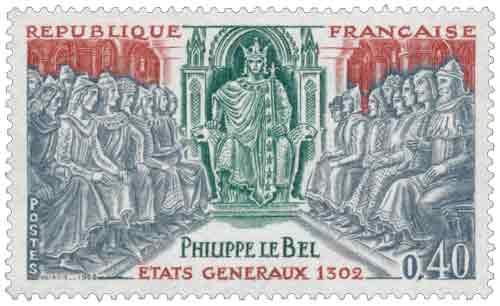 PHILIPPE LE BEL ÉTAT GÉNÉRAUX