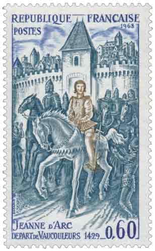 JEANNE D'ARC DÉPART DE VAUCOULEURS 1429