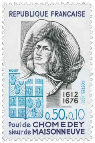 Paul de Chomedey, sieur de Maisonneuve