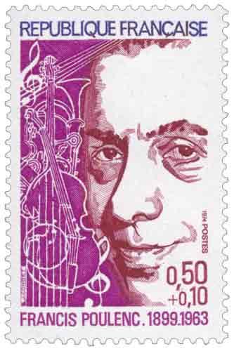 Francis Poulenc (1899-1963), compositeur et pianiste