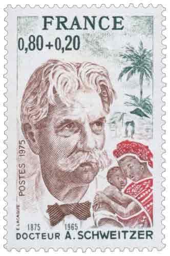 Docteur A.Schweitzer (1875-1965)