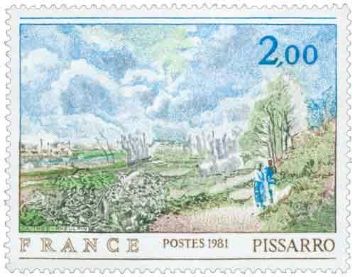 La sente du chou de Camille Pissarro (1830-1903)