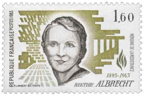 Berthie Albrecht (1893-1943)