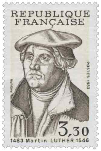 500e anniversaire de la naissance de Martin Luther