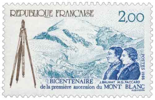 première ascension du Mont-Blanc