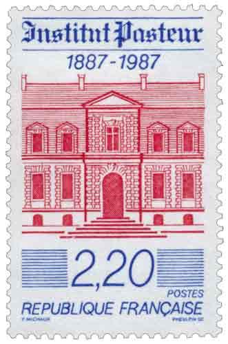 Centenaire de l'institut Pasteur, représentation du musée Pasteur